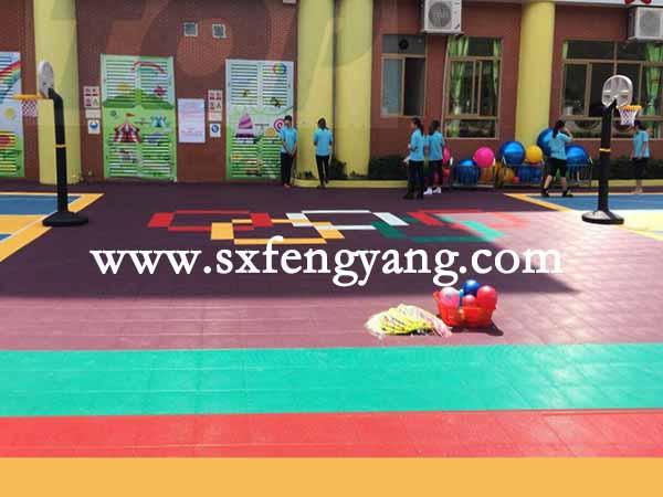 环保幼儿园拼装地板