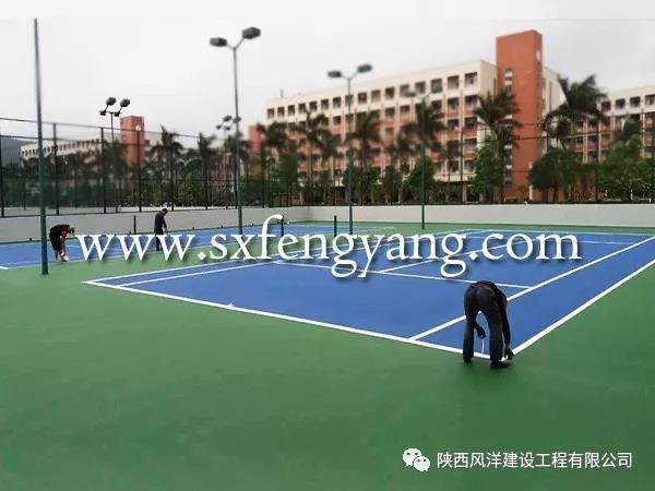 网球场沥青基础修补方案